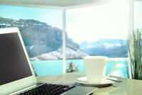 Work From Home and Anywhere. Even When You're in Holidays