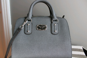 Michael Kors grey satchel