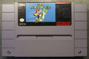 """Selling : """"Super Mario World"""" for the Super Nintendo for 15 $"""