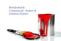 Residential & Commercial - Indoor & Outdoor Painter