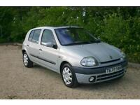 One Owner from New AUTOMATIC Renault Clio 1.6 RXE done 48321 Mile with a NEW MOT