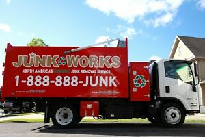 Junk Removal - Anything and Everything! - JUNK WORKS Cambridge Kitchener Area image 1