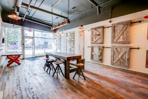 BEAUTIFUL SHOWROOM OR OFFICE SPACE FOR RENT