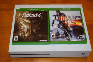 Xbox One S (500GB) + Games