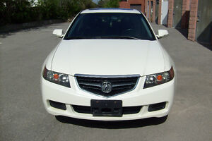 2004 Acura TSX, ONLY 172800 KM, Pearl White, Fully Loaded