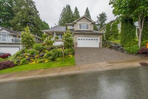 Well-kept Family Home with a view..and private Back Yard!