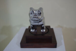 Mounted Chrome Mack Truck Bulldog Hood,Desk Ornament Paperweight London Ontario image 4