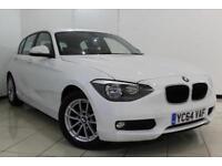 2014 64 BMW 1 SERIES 1.6 116D EFFICIENTDYNAMICS 5DR 114 BHP DIESEL
