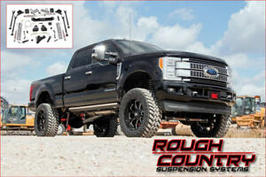 Rough Country - Susp (Lift kit) 6'' F250-F350 4WD DIESEL 17-18