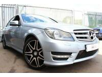 2013 62 MERCEDES-BENZ C CLASS 2.1 C250 CDI BLUEEFFICIENCY AMG SPORT PLUS 4D 202