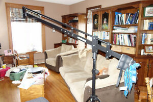 Camera Crane - 6 foot with additional 3 foot extension