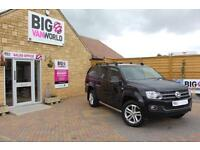2013 VOLKSWAGEN AMAROK HIGHLINE TDI 4MOTION WITH TRUCKMAN TOP PICK UP DIESEL