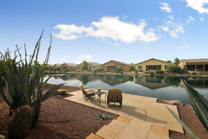 Arizona Waterfront home for sale in Gated Community.