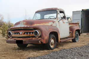 1954 Merc M-100 Truck Windsor built before plant closed