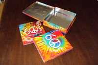 Retro 1960s Summer of Love 3 CD Set in a gift tin, like new