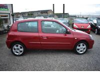 Renault Clio 1.2 ( 75bhp ) Campus Sport i-music 2009MY 3 DOOR+RED+BARGAIN