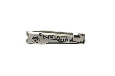 Jwh Custom Cnc Laser Engraved  22Lr Bolt   Zombie Killer Bio Ruger 10 22 10 22