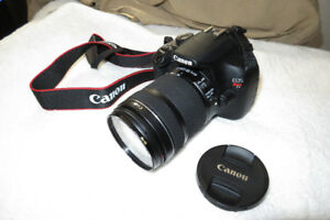 Canon T5 Camera with 18-135mm STM lens plus Accessories