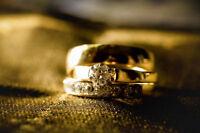 LOST Men's Yellow Gold Wedding Band - Ingonish Beach