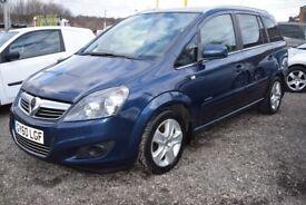 Vauxhall Zafira ENERGY 1.7CDTi 16v ecoFLEX (blue) 2010