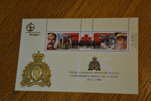 Stamps: Canada 1998 RCMP 'Portugal' issue. Scott 1737d