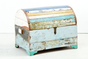 Reclaimed Boatwood Storage Chest/Trunk