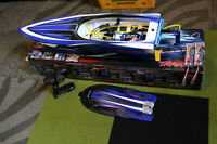 NEW TRAXXAS SPARTAN RC BOAT