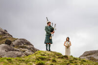 Professional bagpiper available for hire