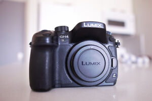 Panasonic GH4 (4K camera) Body Only - Used but Great condition.