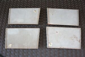 "Chimney/Fireplace Cleanout Doors - 10"" X 6"" - 4 of them -$5 EACH"