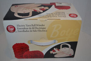 Boye Simplicity Electric Yarn Ball Winder Boxed
