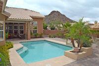 BACKYARD RETREAT w/POOL! 4Bd/3bth–Mountain Views!-Phoenix AZ USA