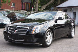 2009 Cadillac CTS**beautiful BLACK ON BLACK**low 82,000KM