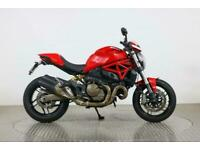 UNREGISTERED 2021 MONSTER 821 IN GLOSS RED AVAILABLE NOW