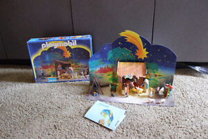 Playmobil #3996 Christmas Nativity set complete with box