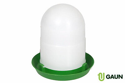 2L Plastic Chick Drinker for Chickens, Pigeons,Game