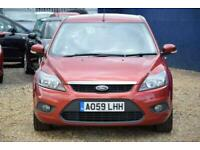 2009 Ford Focus 1.6 ZETEC TDCI 5D 107 BHP + FREE NATIONWIDE DELIVERY + FREE 3 YE