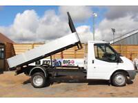 2010 FORD TRANSIT 350 TDCI 100 MWB ALLOY TIPPER DRW RWD TIPPER DIESEL