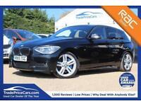 2015 15 BMW 1 SERIES 2.0 125D M SPORT 5D AUTO 215 BHP DIESEL