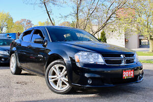 2012 DODGE AVENGER SXT - ACCIDENT FREE - LOW KM - CERTIFIED