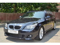 BMW 520 2.0TD auto 2010 d M Sport Touring, 91K MILES, FULL BMW HISTORY, 2 OWNER