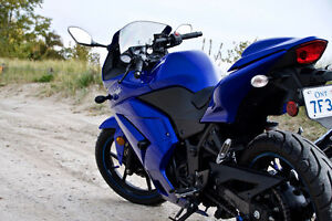 Blue 2009 Kawasaki Ninja 250 - Perfect Starter Bike