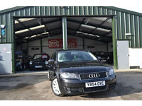 2005 Audi A3 1.6 Special Edition PETROL MANUAL BLACK