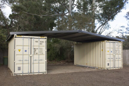Shipping Container Roof Cover Shelter Kit Podroof Storage