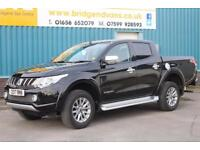 2017 MITSUBISHI L200 DI-D 2.5 4WD BARBARIAN DOUBLECAB DIESEL MANUAL PICKUP, 1 OW