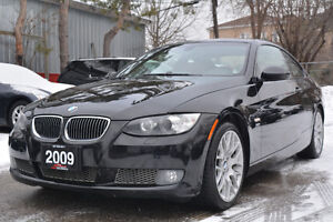 2009 BMW 335i xDrive Coupe•6 Spd •NAVI •Red Interior •Certified!