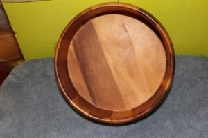 Variety of serving platters