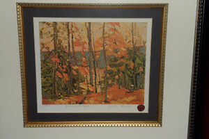 Tom Thomson Group of Seven Spruce and Maple Print