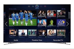 """55"""" Samsung LED TV series 8 3D full HD / barely used"""