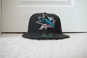 San Jose Sharks Fitted Hat